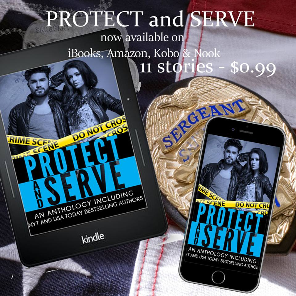 Protect and serve ad graphic now available